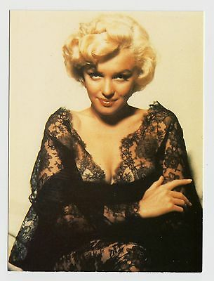 MODERN POSTCARD - Marilyn Monroe in lacy dress, by Athena
