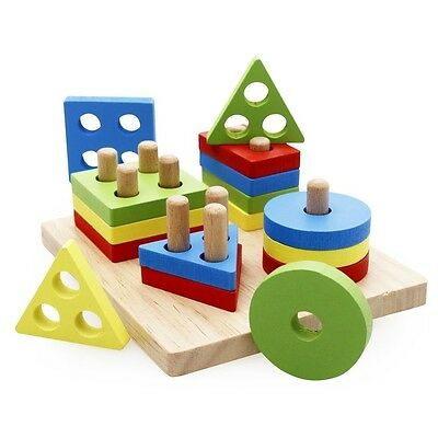 Educational Toys For 3 Year Olds Boys Girls Wooden Preschool Board Block Puzzle