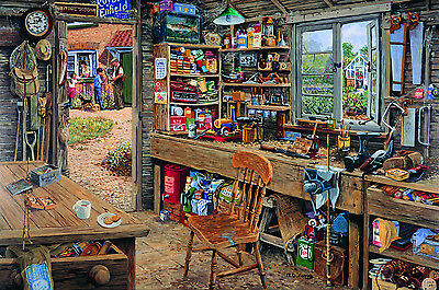 The House Of Puzzles - 1000 PIECE JIGSAW PUZZLE - Dad's Shed