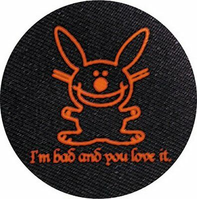 Happy Bunny Bad and You Love It Button B-HB-0040-C