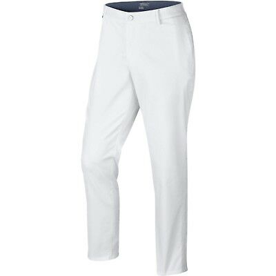 Nike Golf Men's Modern Fit Washed Pants White/Midnight Navy/Wolf Grey 725672-100