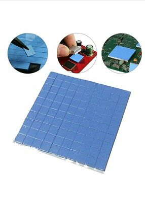 Thermal pad 100mm*100mm*1mm GPU CPU Heatsink Cooling Conductive Silicone Pad