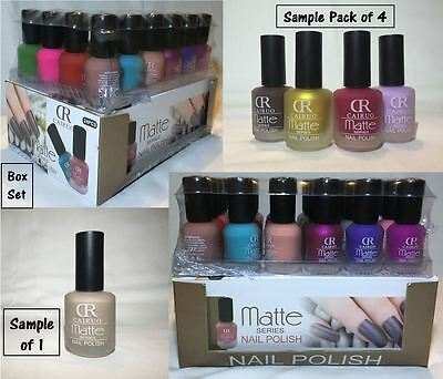 New CAIRUO Nail Polish Varnish Set 24 Bottles Box Different Colours Best Gift