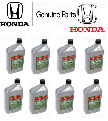 Set of 8 Honda CVT ATF Auto Trans Fluid Replaces Honda Z-1 Fluid OE Supplier