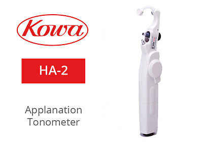 KOWA HA-2 Hand Held Applanation Tonometer / Includes: Carrying Case, Calibration