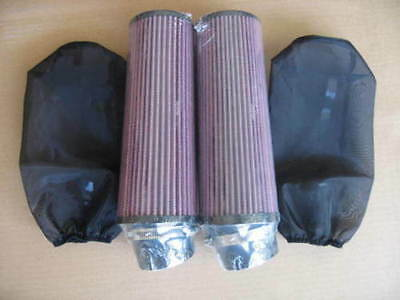 Year 1994 BANSHEE YFZ350 8 Inch AIR FILTER and Pre COVER Pair