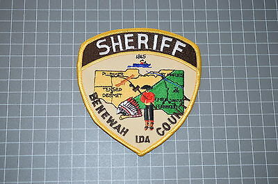 Benewah County Idaho Sheriff Department Patch (T3)