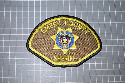 Emery County Utah Sheriff's Department Patch (T3)