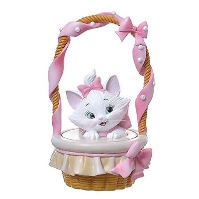 ❦Kawaii Disney Cat Marie Jewelry Box basket Accessory Case pink NEW F/S❦