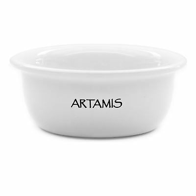 Artamis White Ceramic Shave Bowl
