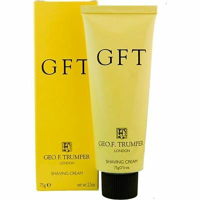 Geo F Trumper GFT Citrus Lemon Shaving Cream Travel Tube