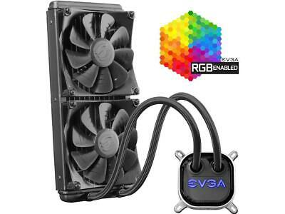 EVGA CLC 280 Liquid / Water CPU Cooler, 400-HY-CL28-V1, 280mm Radiator, RGB LED