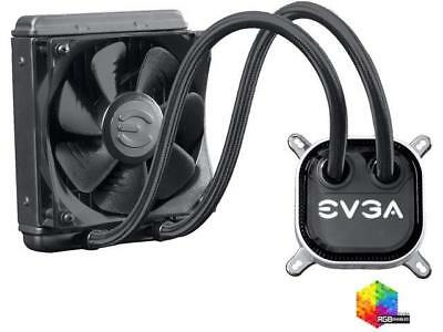 EVGA CLC 120 Liquid / Water CPU Cooler, 400-HY-CL12-V1, 120mm Radiator, RGB LED