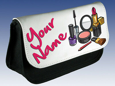 Personalised Ladies / Girls Make Up Bag - Great Named Gift For Mum Nan Sister