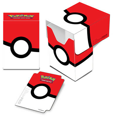 ULTRA PRO - Pokemon - Pokeball - Full View Deck Box