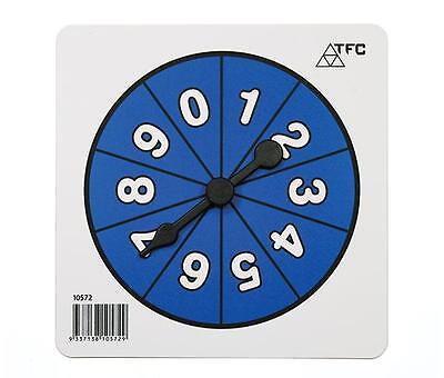 Number 0-9 Spinners Maths Teacher Resources Games Classroom Learning School