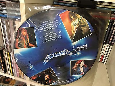 Metallica Ride The Lightning Music For Nations Lp Vinile Picture Disc 1986 Mfn27