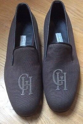 Hurry !!! Discount  Gieves & Hawkes Sand Brown Slippers UK 10 EU 44