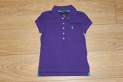Brand New Authentic Ralph Lauren Girls Polo Shirts Size S 7 M 8-10