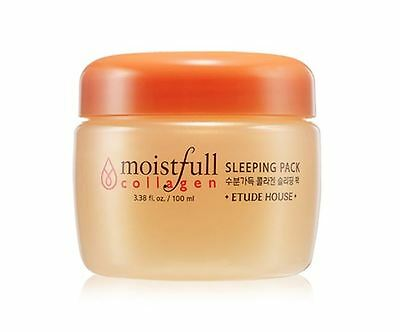 Etude House Moistfull Collagen Sleeping Pack 100ml + Free Sample *UK Seller*