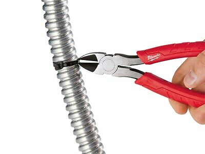 "Milwaukee 48226106 6"" 160mm Diagonal Pliers Side Cutters Electrition Carpenter"