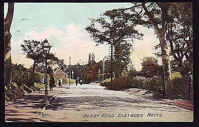 Eastwood Notts Derby Road Clumber Series Postcard