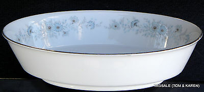 "INVERNESS by NORITAKE FINE CHINA ~ 9"" OVAL VEGETABLE BOWL"