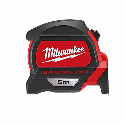 Milwaukee 48227305 5m Measuring Tape with Magnetic Hook and Architect Scale GEN2