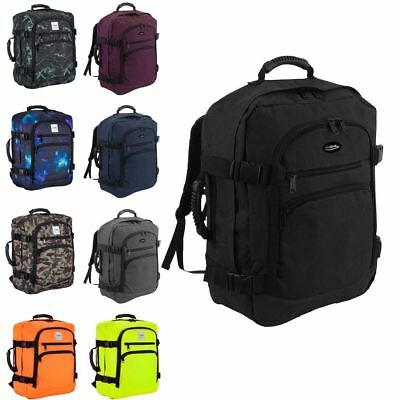 Cabin Approved Flight Backpack Rucksack Hand Luggage Travel Holdall 44 Litre Bag