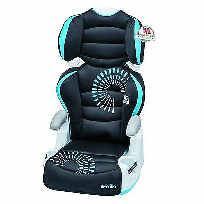 2 in 1 Removable Big Kid Child High Back Booster Adjustable Car Seat, Sprocket