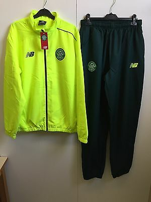 New Balance Celtic FC 2016/17 Training Tracksuit - Large - Yellow/Green - BNWT