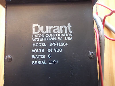 Durant 3-Y-11564-24Vdc True Subtracting Counter New Free Shipping