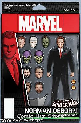 Amazing Spider-Man #25 (2017) Triple Sized Iss Christopher Action Figure Variant
