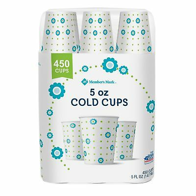 Dixie Cold Paper Cups, 5 oz. 450 ct. New