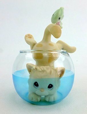 Precious Moments Catch Ya Later Kitty Cat in Fish Bowl 358959