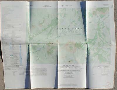 Wartime TIEU TEO Vietnam Map, Sheet 6551 II, Series L701