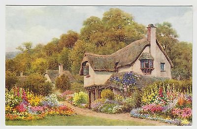 POSTCARD - A. R. Quinton (ARQ) #1-52-05-08, Old Cottage, Selworthy, Somerset