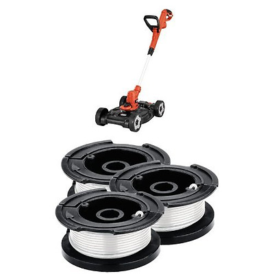 Black & Decker MTE912 12-Inch Electric 3-in-1 Trimmer/Edger and Mower, 6.5-Amp +