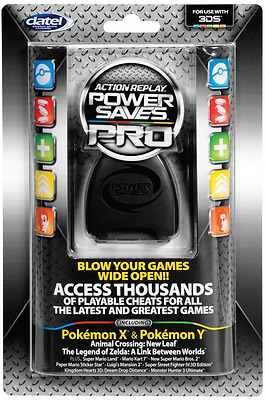 3DS - Cheat Codes - Power Saves Pro - Action Replay (Datel)