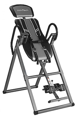 Innova Health and Fitness ITX9800 Inversion Therapy Table with Ankle Relief and