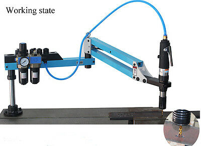 360 Rotate New Vertical Type Pneumatic Air Tapping Machine M3-M12 1000mm Hot