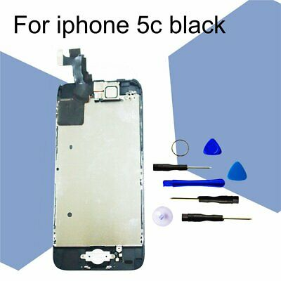 CA LCD Screen and Digitizer Assembly with Front Camera+Home Button for iPhone 5C