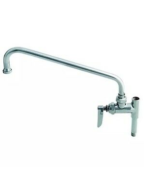 """T&S Brass B-0156 Pre-Rinse Add-On Faucet 12"""" Inch Nozzle Includes 3"""" Nipple"""