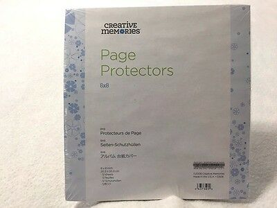 NEW Creative Memories 8 x 8 Page Protectors For Scrapbooks Sealed 2008 18902