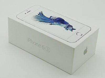 [Manual & Box Only] APPLE iPhone 6s - NO PHONE - White