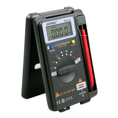 New ZOTEK VC921 Mini Portable Digital Autoranging Multimeter Pocket Multimeter