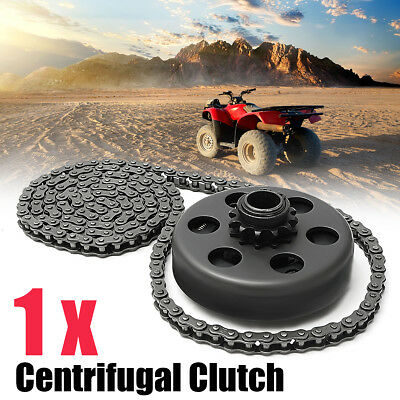 """3/4"""" Bore Centrifugal Clutch 12 Tooth #35 Chain Screw Sets For Minibike Go Kart"""
