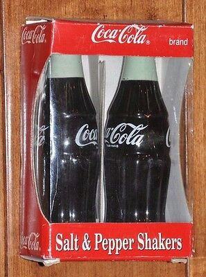 Coca Cola Salt and Pepper Shakers New In Box 1996