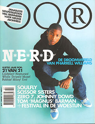 MAGAZINE OOR 2004 nr. 07 - N.E.R.D./SOULFLY/SCISSOR SISTERS/MAGNUS/JOHNNY DOWD