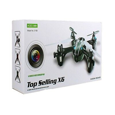 2.4G RC Toy Quadcopter Helicopter 6-Axis Gyro Drone 3D 2MP Camera